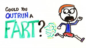 Could You Outrun A Fart? Science Can Tell You
